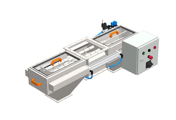 Obojstranný magnetický separátor MSV PO EKO