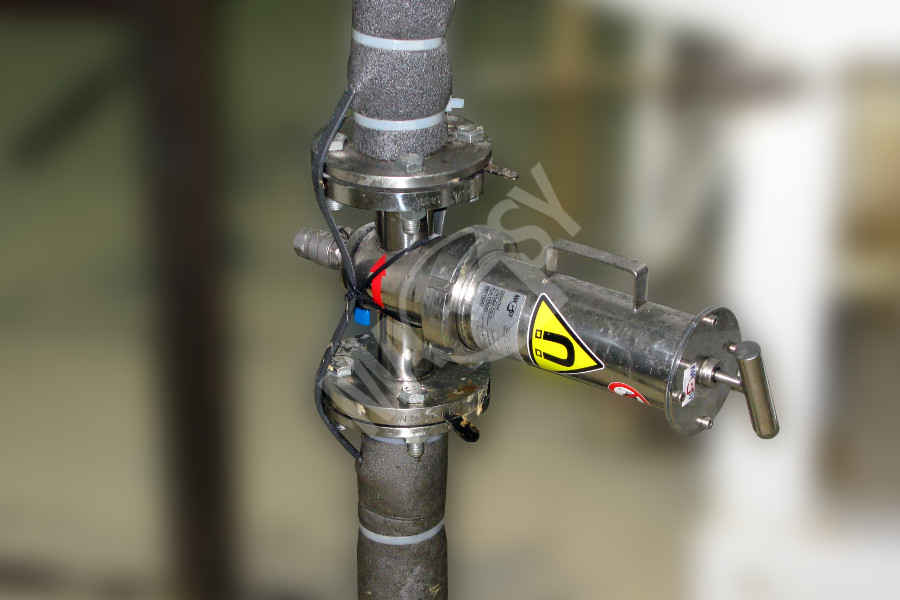Prietokový magnetický separátor MF