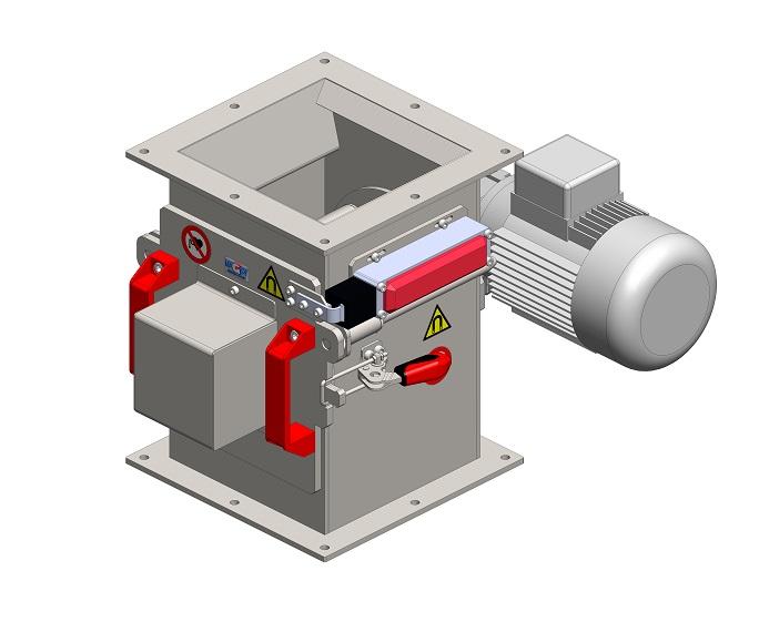 Rotačný magnetický separátor MSVR - EKO