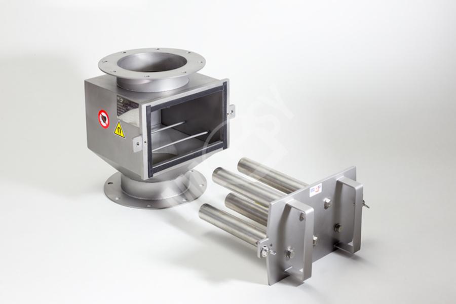 Magnetický separátor s výsuvnými roštami MSV - EKO