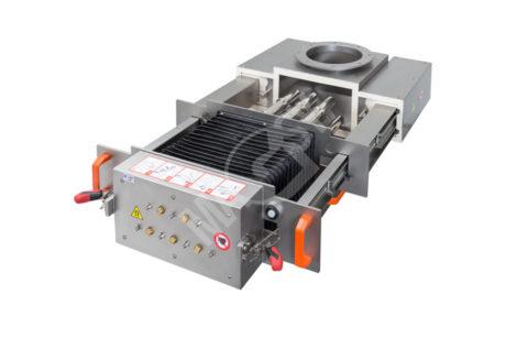 Magnetický separátor s výsuvnými roštami MSV - UP