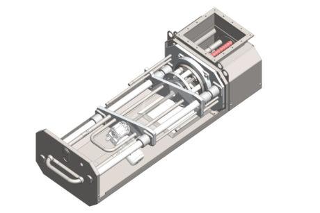 Rotačný magnetický separátor MSVR Standard – UP